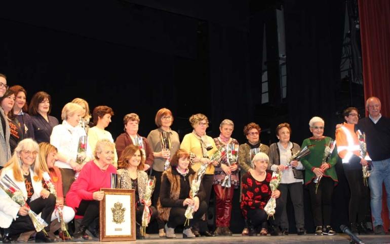 Homenaje municipal a las mujeres que hacen voluntariado social