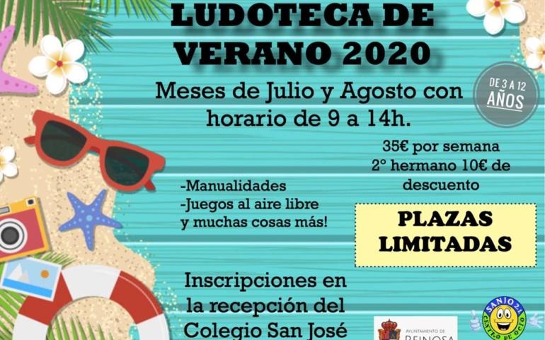 El Ayuntamiento colabora con el Centro Deportivo Sanjo 2.1 en la organización de la Ludoteca de Verano