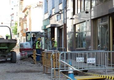 La intervención en la calle Ramón y Cajal iniciará próximamente la urbanización del vial