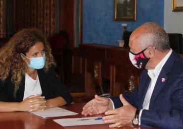 La delegada del Gobierno en Cantabria visita Reinosa