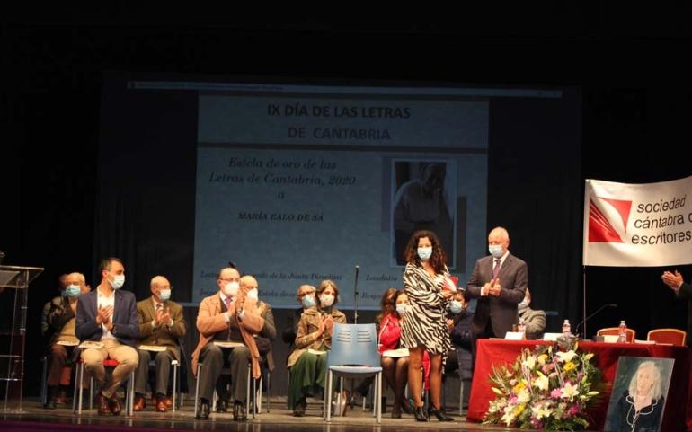 Homenaje a María Ealo de Sá y a la cultura reinosana y campurriana en el Día de las Letras de Cantabria
