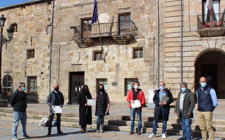 """ACER y el Ayuntamiento entregan los premios del Concurso de Escaparates """"Anima San Mateo 2020"""""""