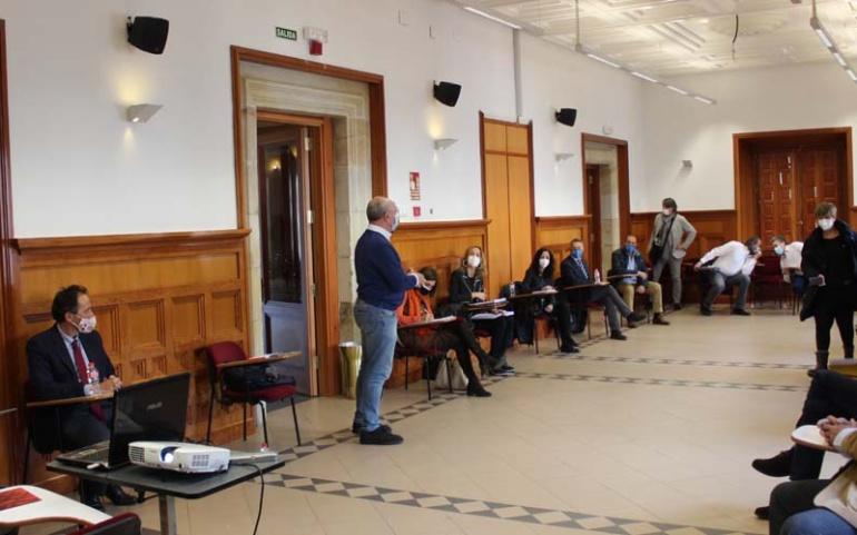 La CHE, el Gobierno de Cantabria, los ayuntamientos y los afectados buscan medidas  con las que evitar nuevas riadas