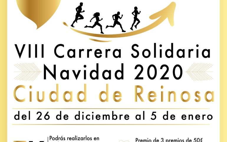 """Ya estan abiertas las inscripciones de la VIII Carrera Solidaria de Navidad """"Ciudad de Reinosa"""" 2020"""