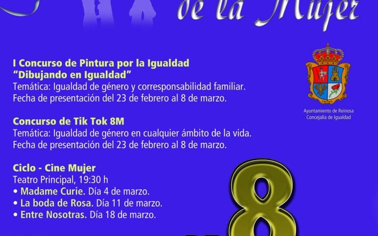 Convocados concursos de dibujo y Tik Tok para conmemorar el 8M