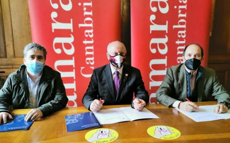 """El Ayuntamiento y la Cámara de Comercio seguirán colaborando en la campaña """"Reinosa Plus"""""""