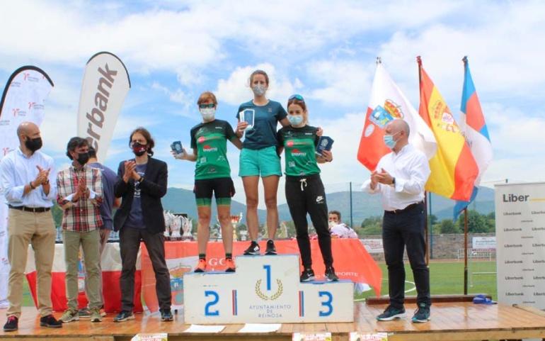Lucía Ibáñez y Koldo Etxebarria vencen en el XXV Duatlón Ciudad de Reinosa