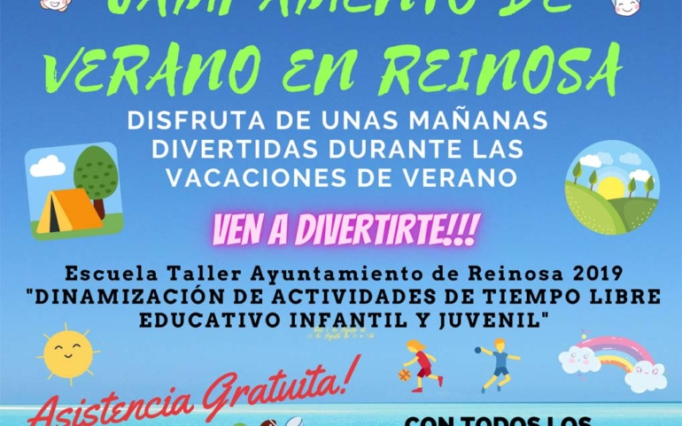 Campamento de verano gratuito para la primera quincena de agosto