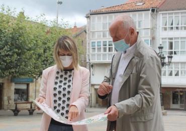 El Ayuntamiento edita un mapa turístico con los murales de Galería Vertical