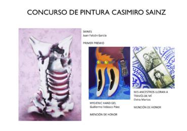 ACTA DEL CONCURSO NACIONAL DE PINTURA CASIMIRO SAINZ 2021